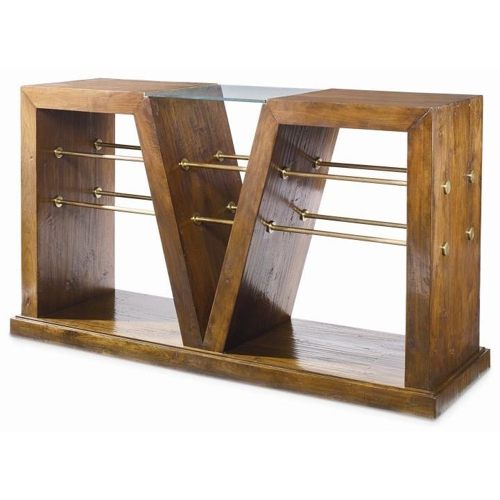 Century Grand Tour Console Table  - Item Number: SF5473