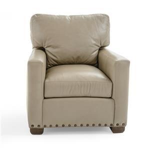 Century Leatherstone Custom Chair