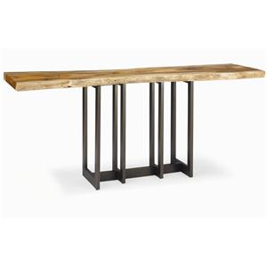 Century Milan Natural Edge Slab Console
