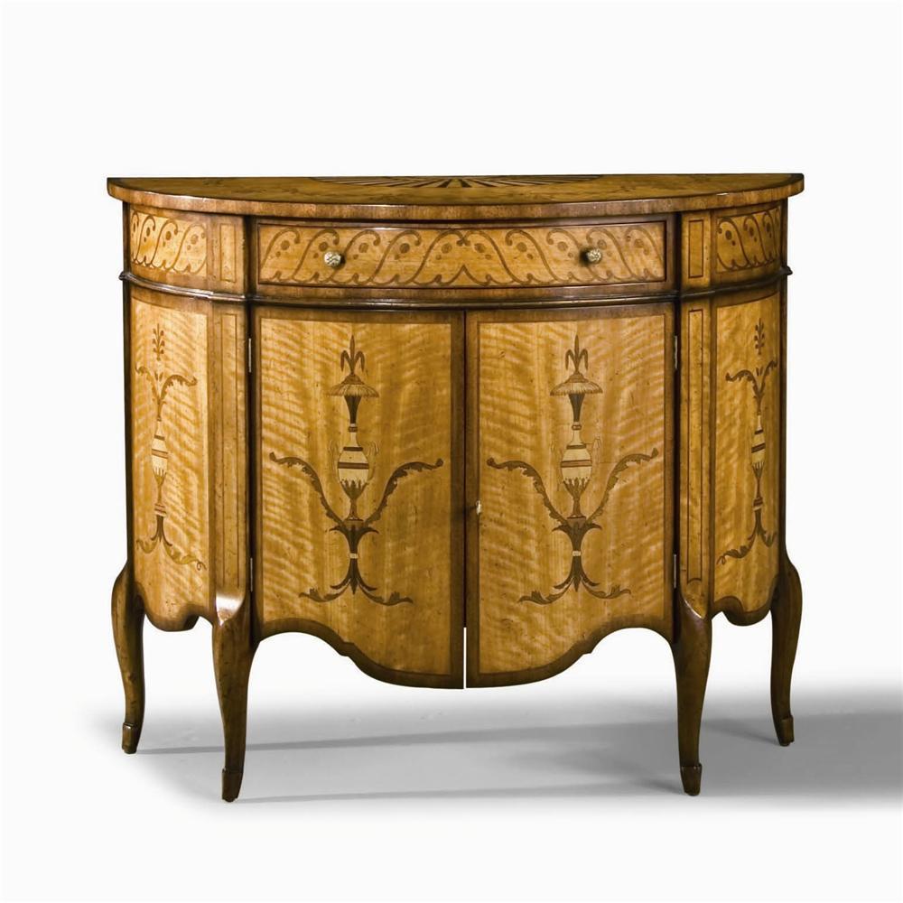 Century Monarch Fine Furniture MN5036 Adam's Demilune Commode | Baer's Furniture | Accent Chests