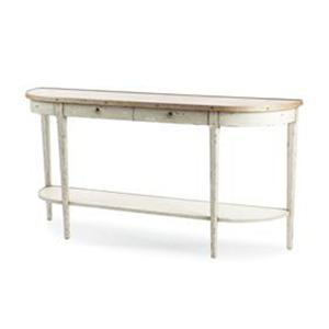 Century Monarch Fine Furniture Hannah Demilune Console Table