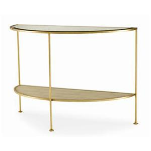 Century Monarch Fine Furniture Adele Demilune Console Table