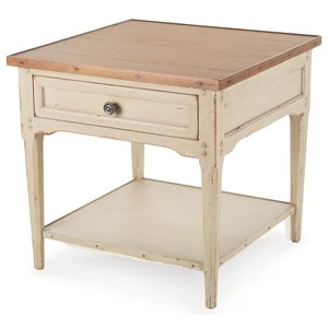 Century Monarch Fine Furniture Hannah Square End Table