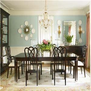 Century New Traditional Dining Table