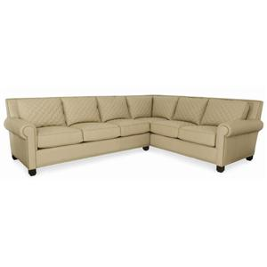 Century PLR-57  Two Piece Sectional Sofa