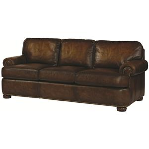 Century PLR-54 Leather Sofa