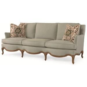 Century Signature Upholstered Accents Lyon Sofa