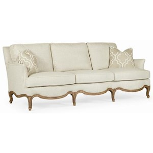 Century Signature Upholstered Accents Lyon Sofa