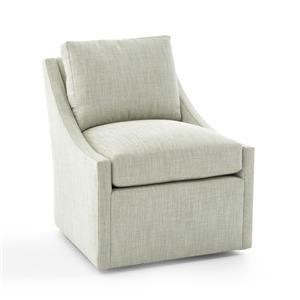 Century Studio Essentials Upholstery Swivel Chair