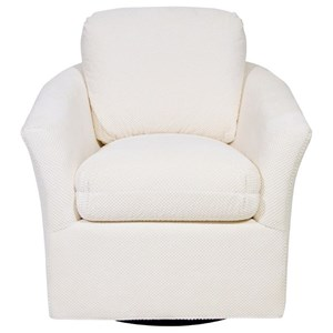 Century Studio Essentials Upholstery Mill Valley Swivel Chair