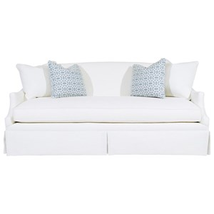 Century Studio Essentials Upholstery Enzo Skirted Sofa