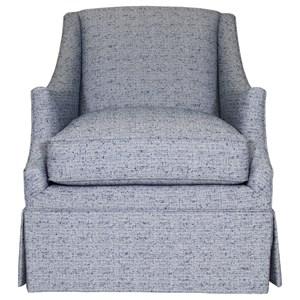 Enzo Skirted Chair
