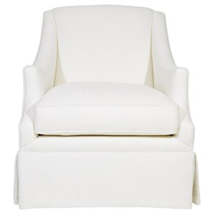 Century Studio Essentials Upholstery Enzo Skirted Chair