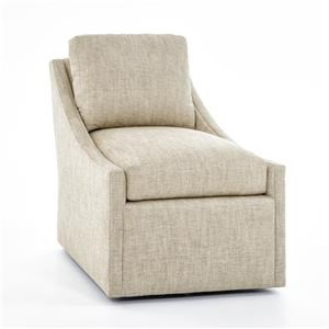 Century Studio Essentials Upholstery Swivel Chair
