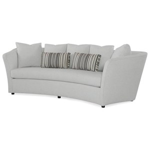 Century Studio Essentials Upholstery Curved Sofa