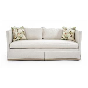 Century Studio Essentials Upholstery Rene Skirted Sofa