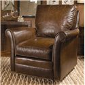 Century Swivel Chairs Century Traditional Swivel Chair  - Item Number: LR-17133