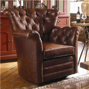 Century Swivel Chairs Century Tufted Back Swivel Chair