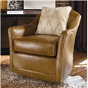 Century Swivel Chairs Century Swivel Chair - Item Number: LR-17164