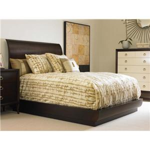 Century Tribeca  Queen Platform Bed