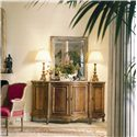 Century Coeur De France Bonnille Credenza with Marble Top