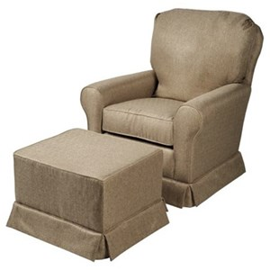 CH Living for Stone & Leigh Gia Glider & Gliding Ottoman