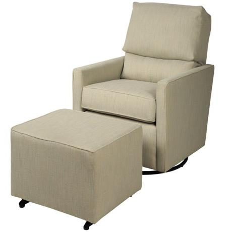 CH Living for Stone & Leigh Kaeden Glider and Ottoman - Item Number: ST113+ST302-ElementPool