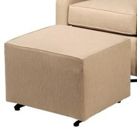 CH Living for Stone & Leigh Monroe Gliding Ottoman - Item Number: ST302-CrossroadsAlmond