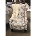 Chairs America Accent Chairs and Ottomans Wing Chair - Item Number: 1460 Belmont Metal