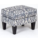 VFM Signature Accent Chairs and Ottomans Chair Ottoman - Item Number: 1460-06-Casbah Denim