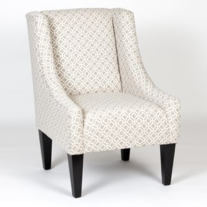 Accent Chair With Wing Back