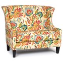 Chairs America Accent Chairs and Ottomans Settee - Item Number: 1500 AyersJewel