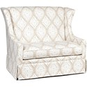 Chairs America Accent Chairs and Ottomans Gliding Settee - Item Number: 1506GL-ArianaLinen