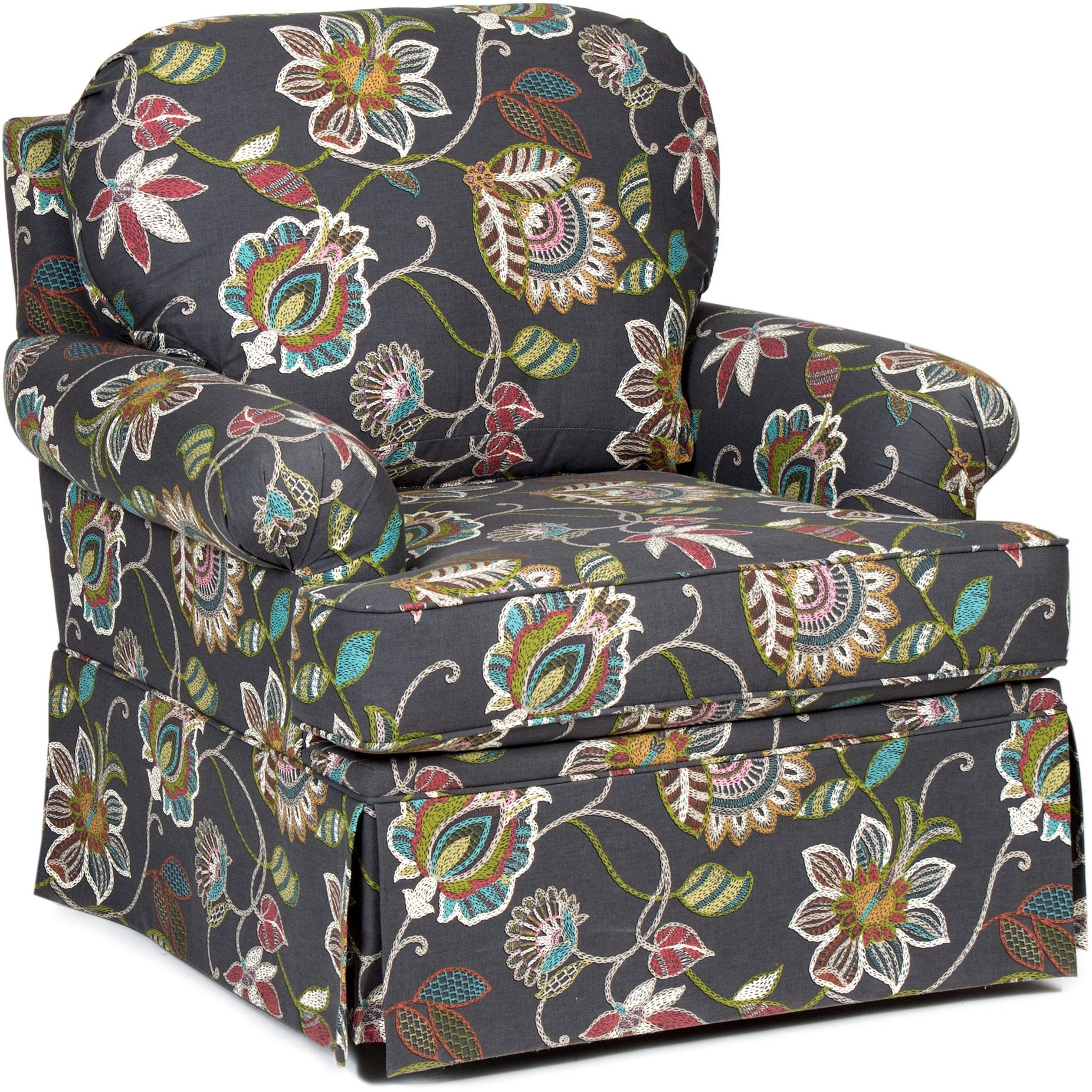 Chairs America Accent Chairs and Ottomans Swivel Glider with