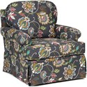 Chairs America Accent Chairs and Ottomans Swivel Glider - Item Number: 1550SG-MatadorRainbow