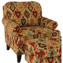 Chairs America Accent Chairs and Ottomans Transitional Chair - Item Number: 1551-DjangoPersian