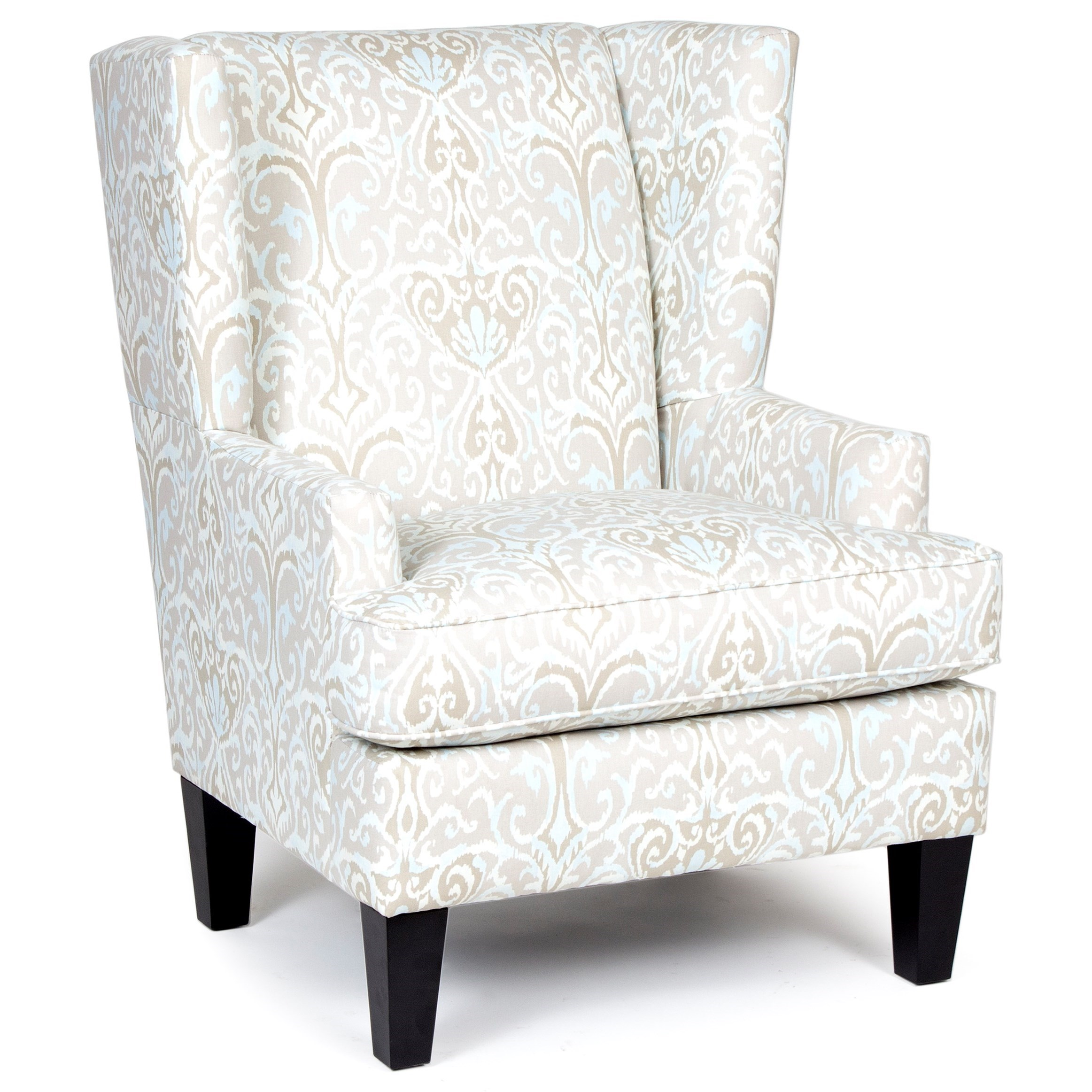 Chairs America Accent Chairs and Ottomans Transitional Wing Chair - Item Number: 1567WD