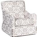 Chairs America Accent Chairs and Ottomans Traditional Glider Accent Chair - Item Number: 1570GL-MonarchLinen