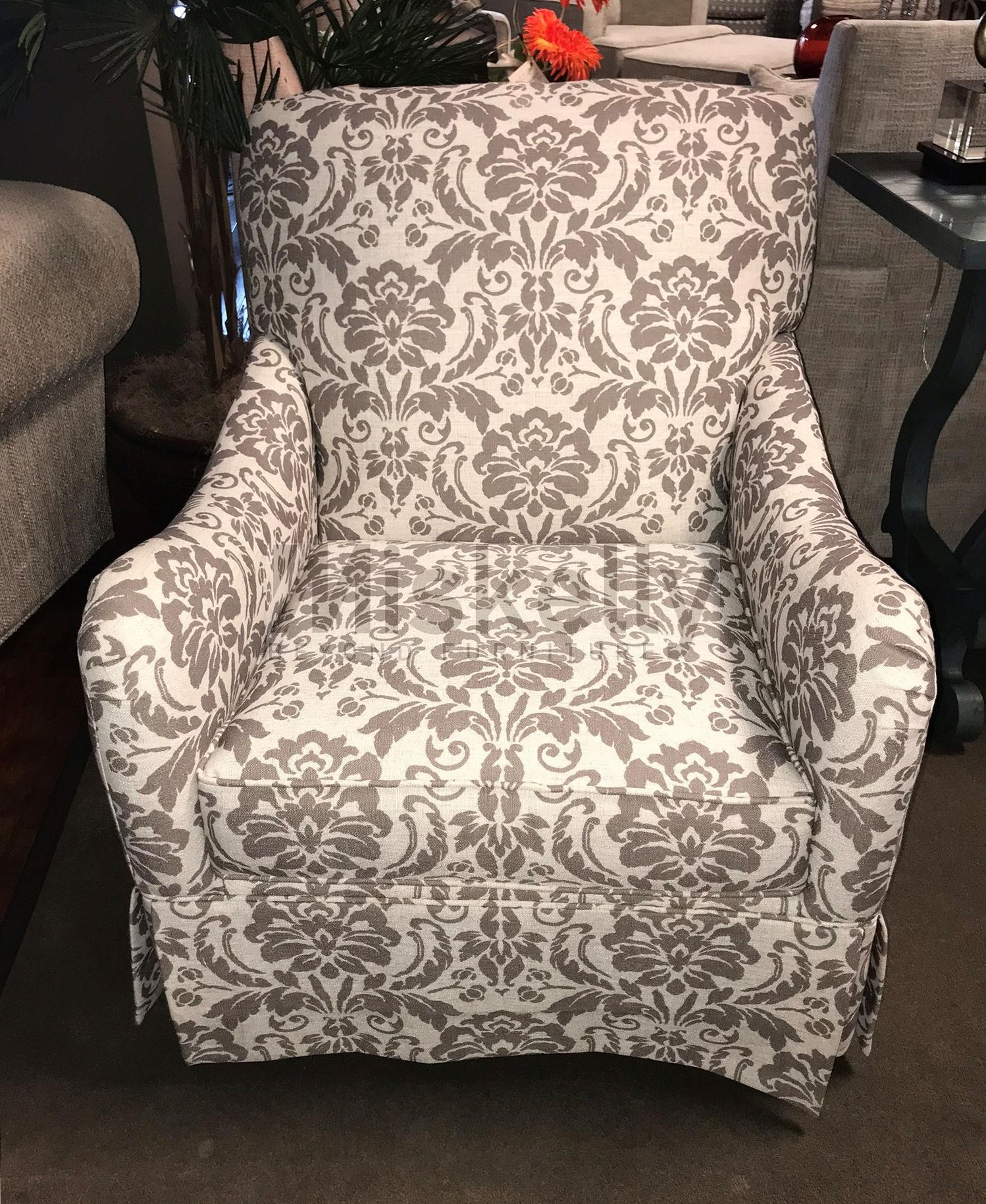 Chairs America Accent Chairs And Ottomans Swivel Glider   Item Number:  1570SG Monarch Linen