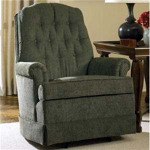 Charles Schneider 1004 Tufted Rocking Chair