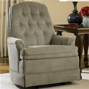Charles Schneider 1002 Upholstered Rocking Accent Chair