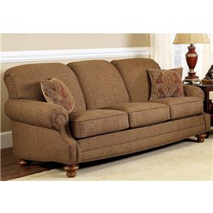Delightful Charles Schneider 1368 Traditional Sofa