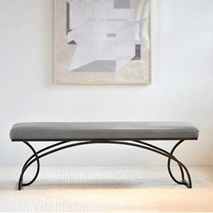 "Charleston Forge Dining Room Accents Monarch 60"" Bench"