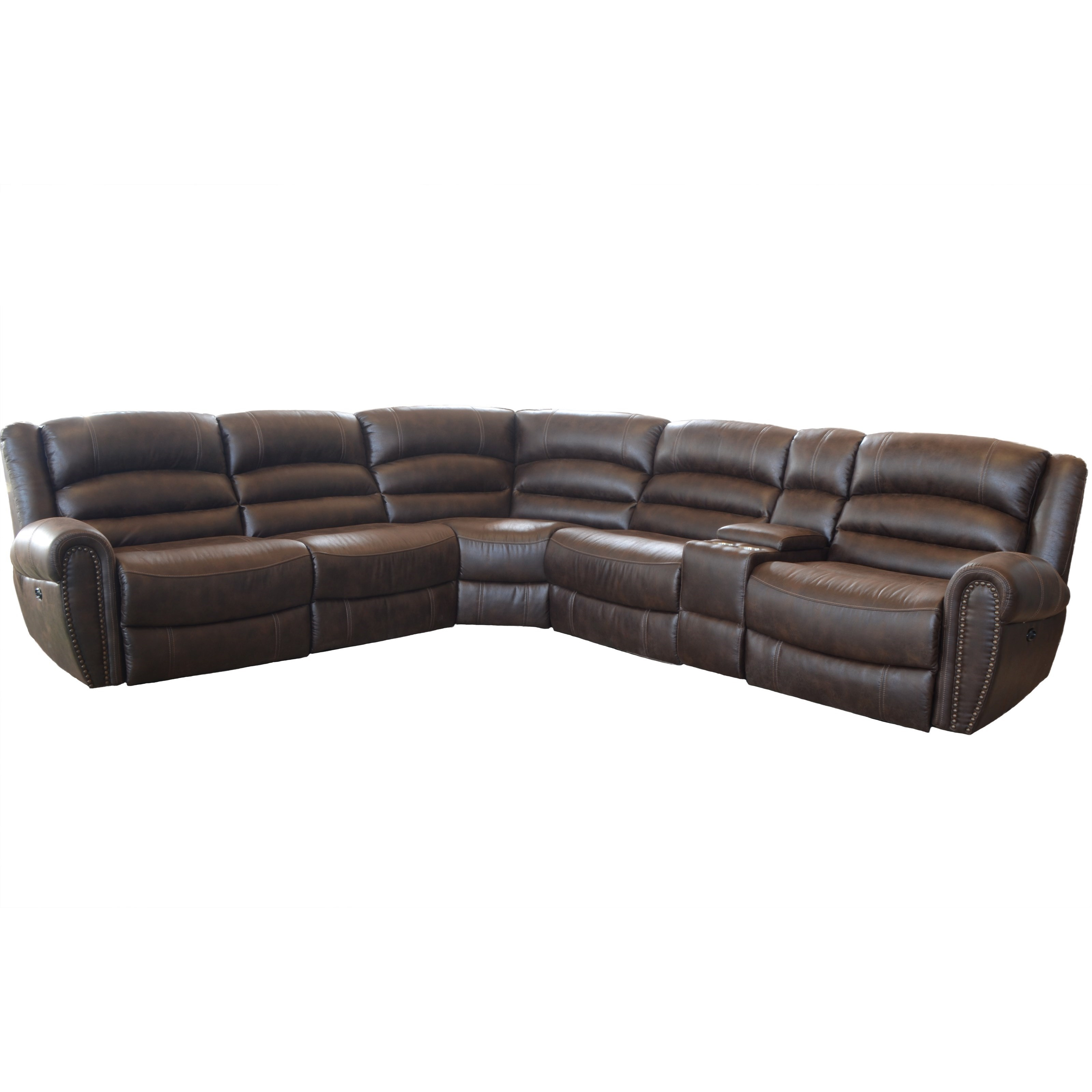 6-Piece Power Reclining Sectional Sofa