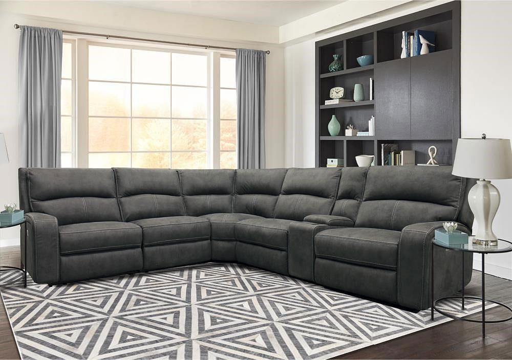 5168HM 6-Piece Power Reclining Sectional by Cheers at Beck's Furniture