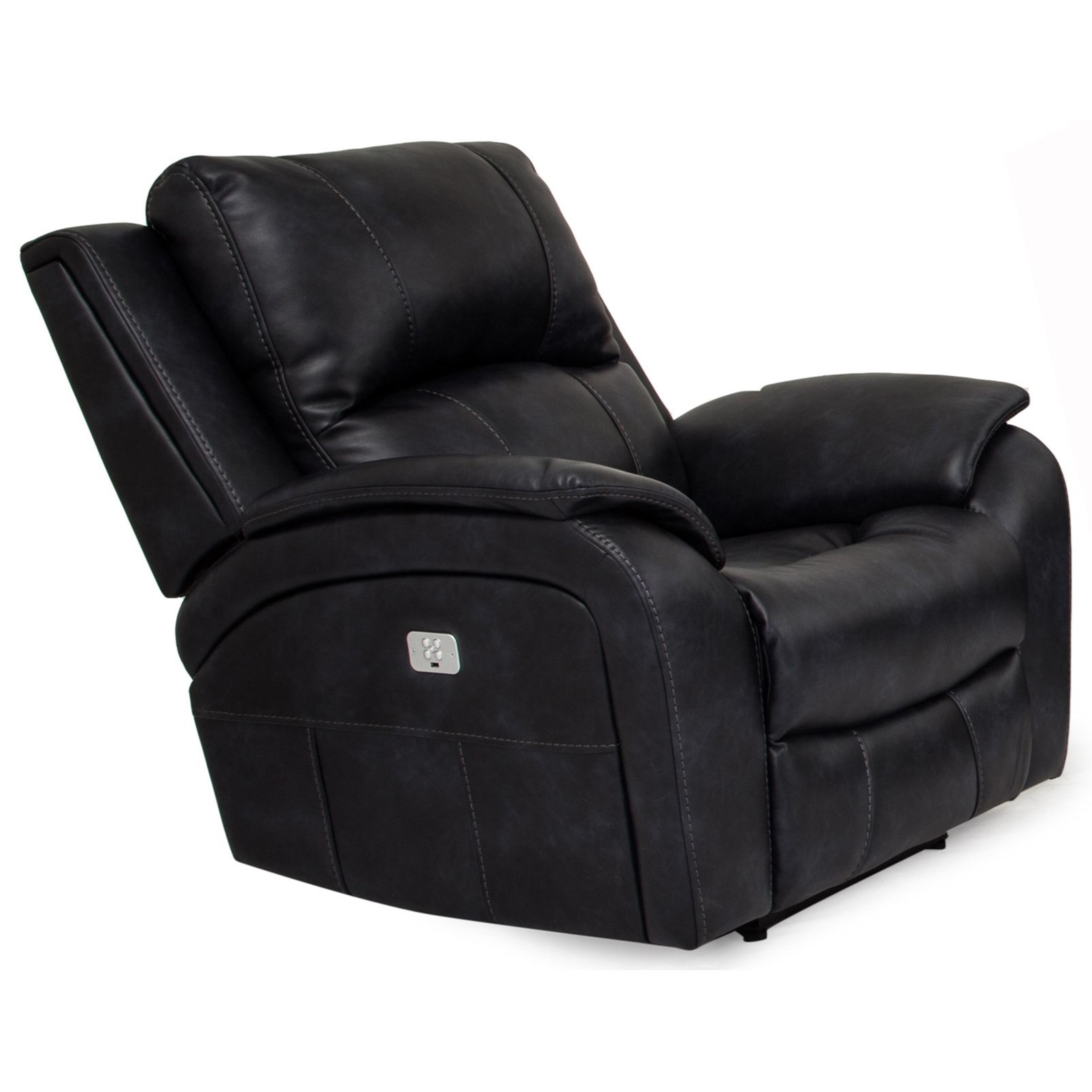5313 Power Recliner with Power Headrest by Cheers at Lagniappe Home Store
