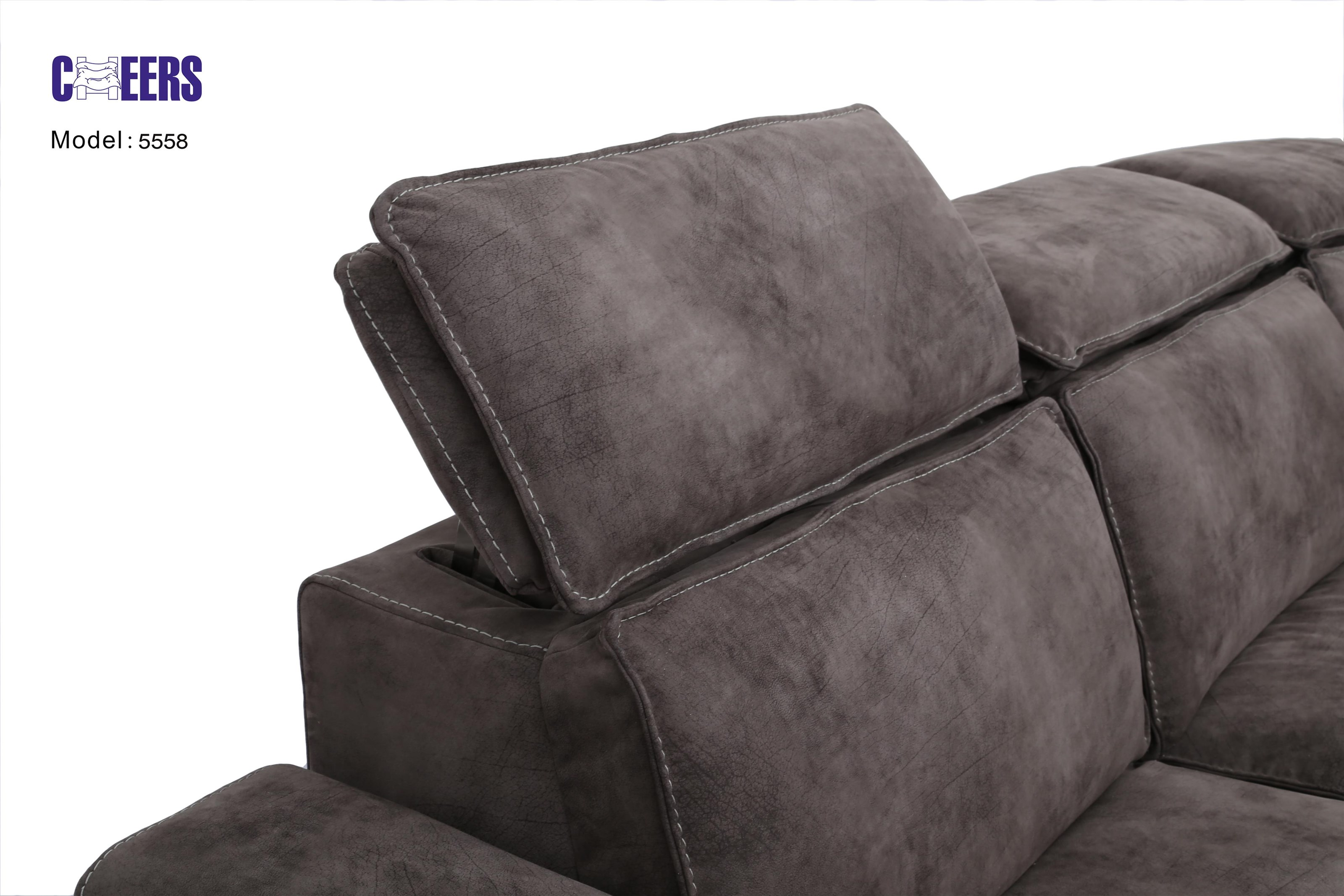 "5558 Power ""Pop Up"" Head Sofa by Cheers at Westrich Furniture & Appliances"