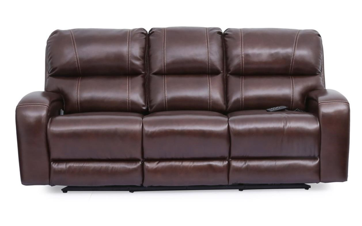 5572 Reclining Sofa with Power Headrests by Cheers at Lagniappe Home Store