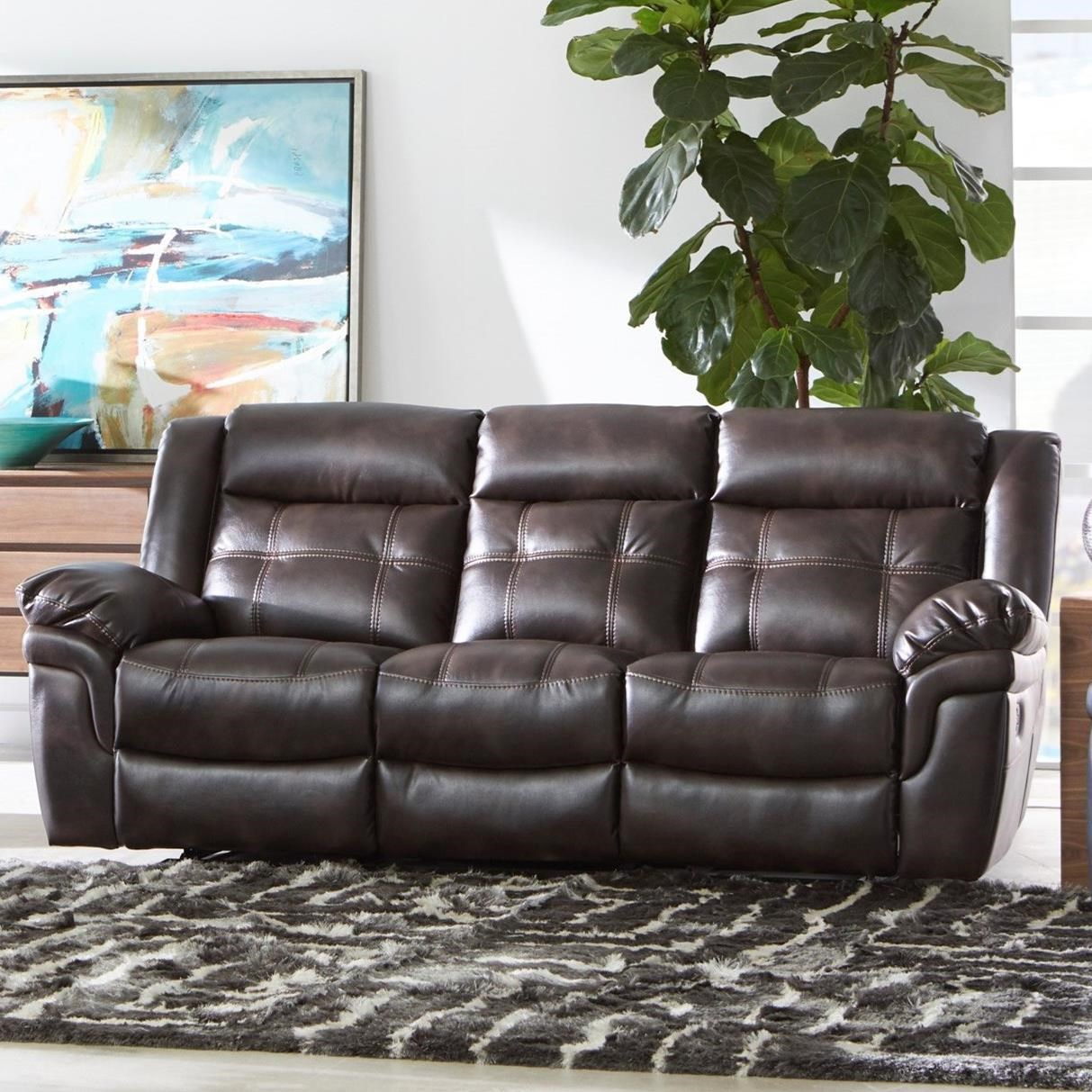 5700 Reclining Sofa by Cheers at Household Furniture