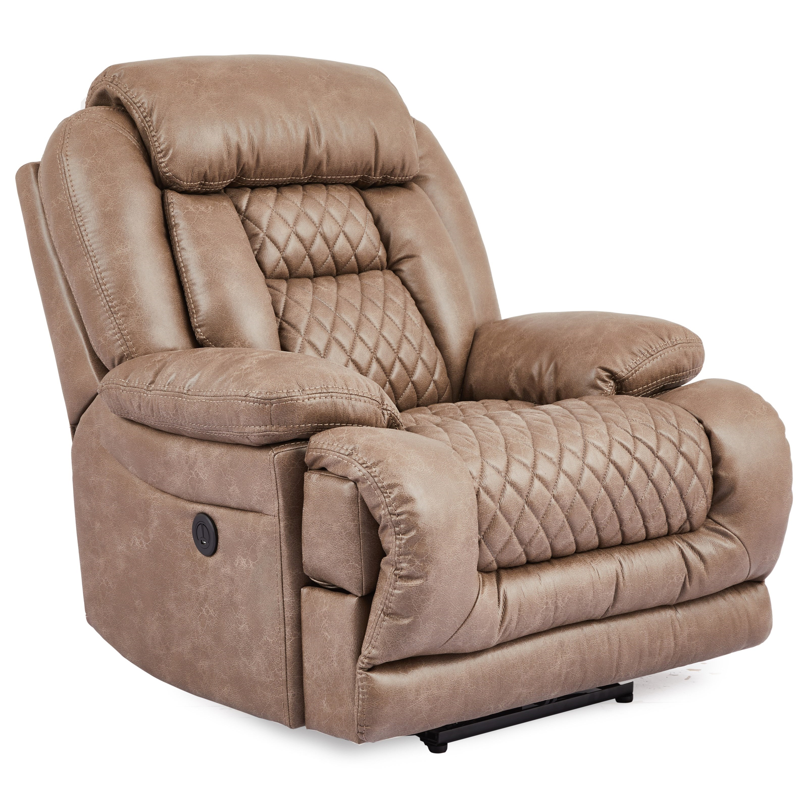 5857 Power Recliner by Cheers at Household Furniture